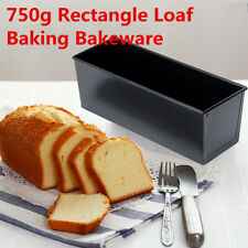 750g Rectangle Nonstick Box Loaf Tin Kitchen Pastry Bread Cake Baking Cookware