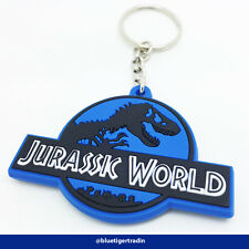 Jurassic Park, Jurassic World PVC Double Sided Keychain Key Ring Pendant