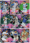 2016 TOPPS CHROME PINK REFRACTOR SINGLES U PICK COMPLETE YOUR SET