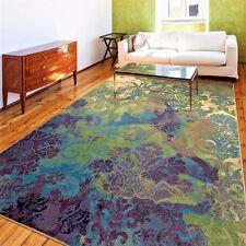 Rugs Area Rugs Carpet 8x10 Area Rug Large Modern Floral Floor Orian Blue Rugs ~