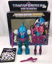 Transformers Original G1 1989 Pretender Submarauder Complete with Box