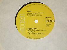 """ABBA *RARE 7"""" 45 ' FERNANDO ' 1976 VGC"""