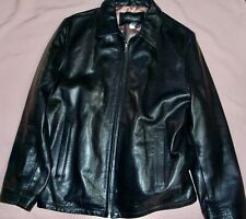BANANA REPUBLIC mens genuine Leather Bomber Jacket   XL