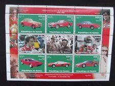 Guinea-1998-9 Stamp Ferrari Minisheet-MNH