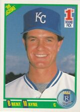 FREE SHIPPING-MINT- 1990 Score #664 BRENT MAYNE ROYALS 1st Round Pick