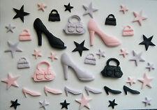 Zapatos, bolsos y de las estrellas, Torta, Decoraciones (Toppers igualar en mi tienda eBay)