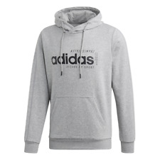 Adidas Hoodies Men Sports Gym Athletics Inspired Brilliant Basics Hoodie EI4621
