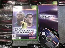 pro evolution soccer 4  xbox pal