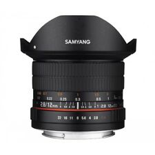 Samyang 12mm F/2.8 ED AS NCS FISH EYE LENS  PER NIKON GARANZIA FOWA 5 ANNI