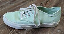 Vans womens mint green mandala sneakers shoes size 7.5