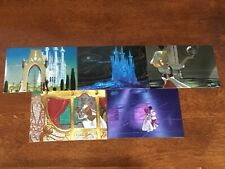 Disney Cinderella Dufex Cards - 5 CARD SET