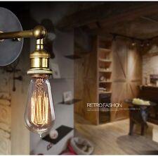 Retro Vintage Wandleuchte Wandlampe Lampenhalter E27  Sconce Edison Glühbirne