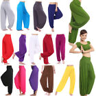 Women Harem Genie Aladdin Causal Gypsy Dance Yoga Pants Trousers Baggy Jumpsuit
