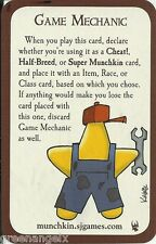 STEVE JACKSON GAMES - MUNCHKIN PROMO CARD : GAME MECHANIC