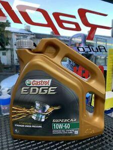 Castrol Edge 10w60 Fully Synthetic 10L 10 Litre - BMW Spec M3 M5 M6