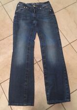 Girls Justice Jeans Denim Size 10r Good Condition
