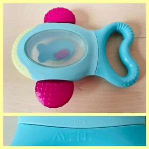 Philips Avent Back Teeth Teether Fish Shaped BPA & Phthalate Free Soothing Baby