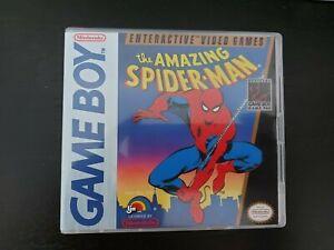 Nintendo Gameboy DMG The Amazing SpiderMan Genuine Cart