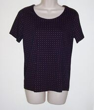 """White Stag Black & Red Polka Dot Pull Over Top M  NWOT Bust 36"""" Length 23 1/2"""""""