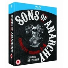 New Sons Of Anarchy Complete Seasons 1-4 Blu-Ray 52 Episodes
