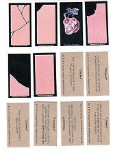 2009 Wacky Package Parodies 2nd Series 2 Fake Bubble Gum Set 6/6 MT