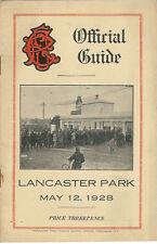 Old Boys, técnica, Varsity, viejos 12 de mayo 1928 Canterbury Nueva Zelanda Rugby programa