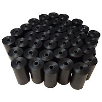 800 PET PUPPY DOG WASTE POOP BAGS BLACK BIODEGRADABLE 13 MICRONS ~ US SHIPPE0