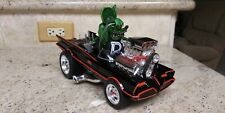 1/18 RAT FINK, CUSTOM BATMOBILE, MUSCLE MACHINE, GASSER , HOLLY COW BATMAN!!