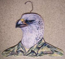 Clothes Hanger Military Animal Air Force Falcon Stupell wood NEW