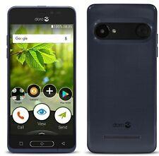 Doro 8035 DSB-0170, Metallic Blue,  4G 16GB Memory, Unlocked Smartphone.
