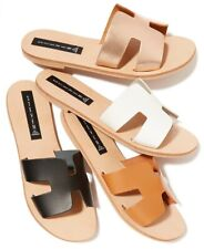 Steve Madden Greece Leather Sandals, Made in Italy