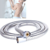 2M Shower Hose Stainless Steel Bathroom Heater Water Head Pipe Flexible U88