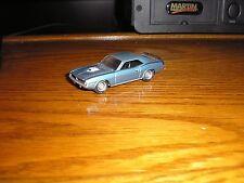 Custom 1/64 Johnny Lightning 1970 Plymouth Barracuda Mopar Hemi Cuda Lt. Blue