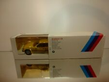 GAMA 417345 BMW M3 E36  - YELLOW 1:24 - EXCELLENT CONDITION IN DEALER BOX