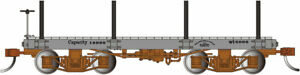 Bachmann 26513 On30 Data Only 18' Flat Cars Capacity 16000 (Set of 2)