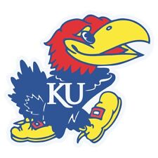 Kansas Jayhawks NCAA DieCut Vinyl Decal Sticker Buy 1 Get 2 FREE