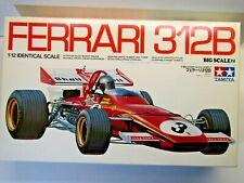 Ferrari 312b 1/12 Tamiya Big Scale F1 Formula 1 Kit RARE Andretti Ickx Regazzoni