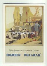 ad1197 - Luxury Humber Pullman Car - Modern Advert Postcard
