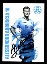 Alessandro Abruscia Autogrammkarte Stuttgarter Kickers 2016-17 Original+A 137817