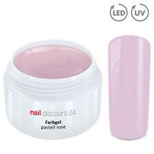 UV Farbgel PASTELL Gel rose 5ml French Color Modellage Nailart Naildesign