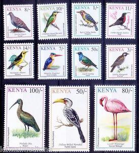 Kenya 1993 MNH, Birds, Horn Bill, Flamingo, Pigeon