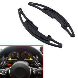 Black Alloy Car Steering Wheel Gear Shift For BMW M2 M3 M4 M5 M6 X5 X6 M-Power