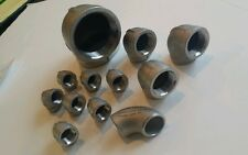 NEW 90 DEGREE FEMALE ELBOWS, LOT OF 11, SEE DESCRIPTION FOR SIZES