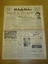 MELODY MAKER 1936 APR 4 AMBROSE EVELYN DALL DANNY POLO BIG BAND SWING