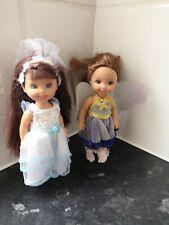 Barbie Little Sister Mini Dolls Set Of Two  bridesmaid & fairy