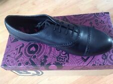 Ladies Black Bootleg Shoes (Clarks) Size 8.5 F NEW Shop Clearance (no Ties)