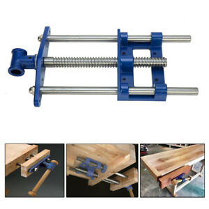 """9"""" Front Vise Bench Cabinet Maker Carpenter Clamp Workbench Woodworking Tool"""