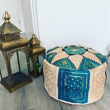 Marokkaanse Lederen Poef