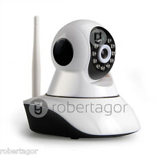 TELECAMERA IP CAMERA HD 720P WIRELESS LED IR LAN WIFI RETE INTERNET MICRO SD