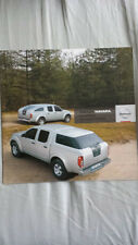 Nissan navara chargé accessoires gamme brochure mar 2008
